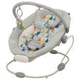 Dječja sjedalica njihalica s muzikom i vibracijom plava