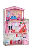 Igračka Drvena kuća za lutke s liftom