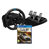 Volan LOGITECH G923 Trueforce Sim Racing Wheel, Gaming, PC/XBOX/PS4 + Igra za SONY PlayStation 4, Project Cars 3 Standard Edition