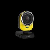 Web kamera GENIUS QCam 6000, 1080p, USB 2.0, žuta