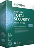 KASPERSKY Total Security Multi-Device, 3D,  licenca jedna godina