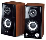 Zvučnici GENIUS SP-HF500A II, 2.0, 16W, drveni