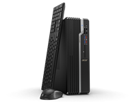 Računalo ACER Veriton X2665G SFF DT.VSEEX.00Z / Core i3 9100, DVDRW, 8GB, 256GB SSD, HD Graphics, Linux, tipkovnica, miš, crno