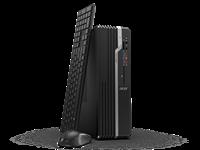 Računalo ACER Veriton X2665G SFF DT.VSEEX.010 / Core i3 9100, DVDRW, 8GB, 256GB SSD, HD Graphics, Windwos 10 Pro, tipkovnica, miš, crno