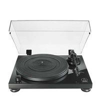 Gramofon AUDIO-TECHNICA AT-LPW50PB, ručni gramofon s pogonom na remen, crni