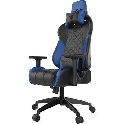 Gaming stolica GAMDIAS ACHILLES E1 L BB, 2D, crno-plava