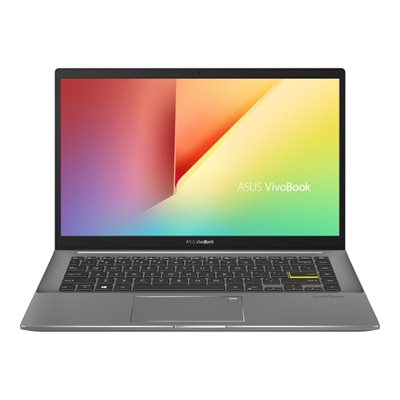 "Prijenosno računalo ASUS VivoBook S14 S433EQ-WB513T / Core i5 1135G7, 8GB, 512GB SSD, GeForce MX350, 14"" IPS FHD, Windows 10, sivo-crno"