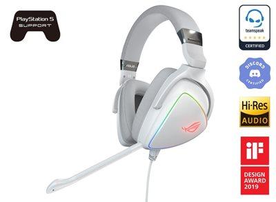 Slušalice ASUS ROG Delta, bijele