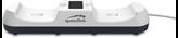 Dodatak za SONY PlayStation 5, SpeedLink Jazz USB punjač za 2 kontrolera, bijeli