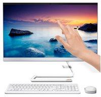 "Računalo AiO LENOVO IdeaCentre 3 F0EU0088SC / i5 10400T, 8GB, 512GB SSD, DVDRW, HD Graphics, 23.8"" IPS FHD touch, DOS, tipkovnica, miš, bijelo"