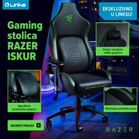 Picture of EKSKLUZIVNO U LINKSU: Razer Iskur gaming stolica