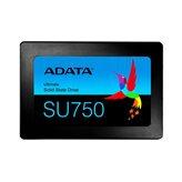 "SSD 256 GB ADATA SU750 ASU750SS-256GT-C, SATA3, 2.5"", maks do 550/520 MB/s"