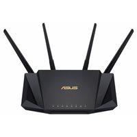 Router ASUS RT-AX58U, 802.11ax/a/b/g/n/ax, Dual Band, 4 externe antene, 4x LAN 10/100/1000 + 1 WAN 10/100/1000, bežični