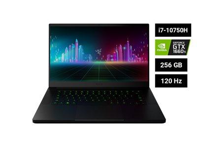 "Prijenosno računalo RAZER Blade 15 Base / Core i7 10750H, 16GB, 256GB SSD, GeForce GTX 1660Ti 6GB, 15,6"" LED FHD 120Hz, Windows 10, crno"