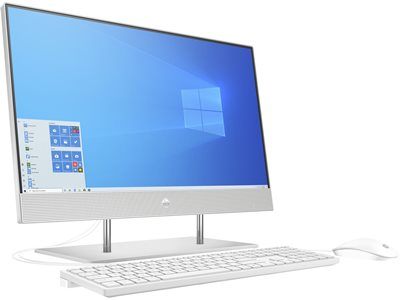 "Računalo AiO HP 24-dp0099ny 236P3EA / Ryzen 5 4500U, 8GB, 256GB SSD, Radeon Graphics, 23.8"" IPS FHD, tipkovnica, miš, Windows 10, srebrno"