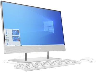 "Računalo AiO HP 24-dp0110ny 236Q9EA / Ryzen 3 4300U, 8GB, 256GB SSD, Radeon Graphics, 23.8""IPS FHD, tipkovnica, miš, Windows 10, srebrno"