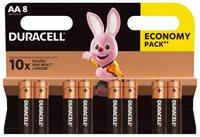 Baterija DURACELL Base Alkaline AA LR6/MN1500, 8 komada