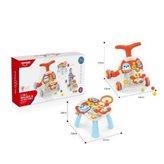 Dječja hodalica-stol 2u1 crvena