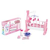 Krevetić za lutke sa dodacima
