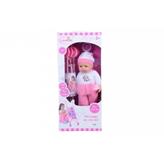 Lutka beba s kolicima