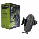 Auto punjač MAXMOBILE Charge5, bežični, Quick Charge 3.0, crni