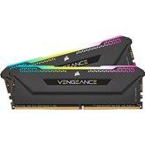 Memorija PC-25600, 16 GB, CORSAIR CMH16GX4M2E3200C16 Vengeance RGB Pro SL, DDR4 3200Mhz, 2x8GB kit