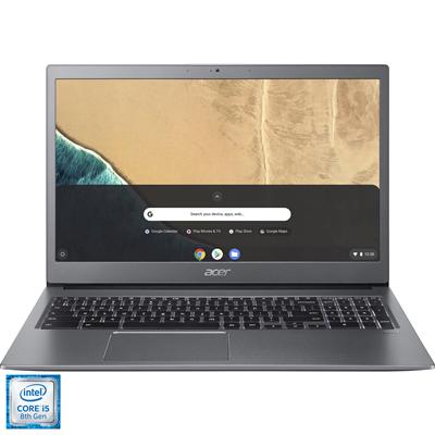 "Prijenosno računalo ACER Chromebook 715 NX.HB2EX.005 / Core i5 8250U, 8GB, SSD 128GB, HD Graphics, 15,6"" IPS FHD, Chrome, sivo"