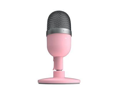 Mikrofon RAZER Seiren Mini Quartz, stolni, rozi