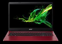 "Prijenosno računalo ACER Aspire 3 NX.HGAEX.020 / Pentium N5030, 4GB, 128GB SSD, HD Graphics, 15.6"" IPS FHD, Windows 10S, crveno"