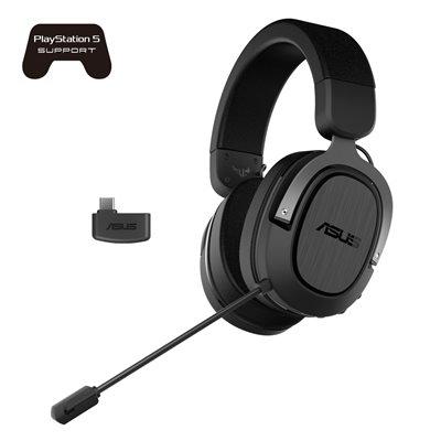Slušalice ASUS TUF Gaming H3, bežične, USB-C, crne