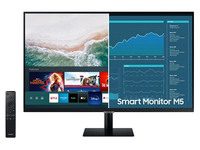 "Monitor 32"" SAMSUNG Smart LS32AM500NRXEN, 250cd/m2, 3000:1, zvučnik, Tizen, WiFi, BlueTooth, crni"