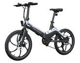 """Električni bicikl MS ENERGY e-bike i10, kotači 20"""", sivo/crni"""