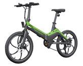 """Električni bicikl MS ENERGY e-bike i10, kotači 20"""", zeleno/crni"""