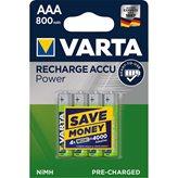Baterija VARTA ,tip AAA punjive, 800mAh, 4kom