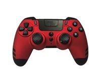 Gamepad STEELPLAY Metaltech, za PS4, bežični, crveno-crni