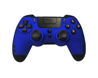 Gamepad STEELPLAY Metaltech, za PS4, bežični, plavi