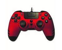Gamepad STEELPLAY Metaltech, za PS4, crveno-crni