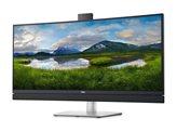"""Monitor 34"""" DELL C3422WE, IPS, 4K WQHD 60Hz, 300cd/m2, 1000:1, RJ-45, USB-C, zvučnici, kamera, zakrivljeni, crni"""