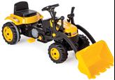 Igračka PILS, Traktor na pedale sa utovarivačem, žuti