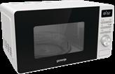Mikrovalna pećnica GORENJE MO20A4W, 20 l, 800 W, advanced, aqua Clean, grill, dig.,bijela