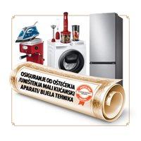 Osiguranje od oštećenja/ uništenja za male kućanske aparate / bijelu tehniku u trajanju od 12 mjeseci - vrijednosti uređaja 5001-6000 kn