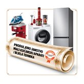 Produljeno jamstvo za male kućanske aparate / bijelu tehniku sa 36 na 60 mjeseci - vrijednosti uređaja 15001-22500 kn