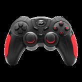 Gamepad MARVO Scorpion GT-060, za PC/Android, bežičani, crno/crveni