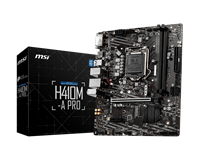 Matična ploča USED MSI H410M-A Pro, Intel H410, DDR4, mATX, s. 1200