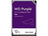 "Tvrdi disk 12000 GB WESTERN DIGITAL Purple, WD121PURZ, SATA3, 256MB cache, 7200okr./min, 3.5"", za desktop"