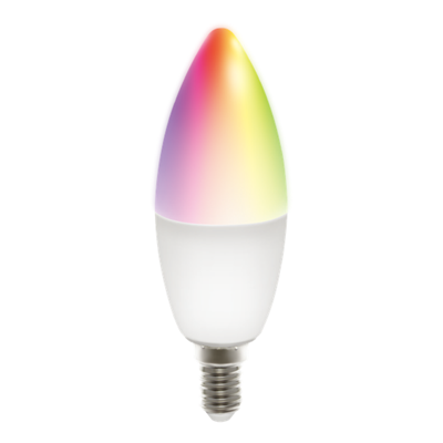 Smart led žarulja DELTACO SH-LE14RGB, RGB, 5W, bijela