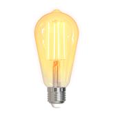 Smart led žarulja DELTACO SH-LFE27ST64, 5,5W, filament