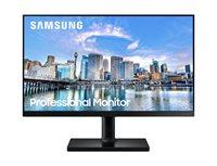 "Monitor 24"" SAMSUNG LF24T450FQ, IPS, 75Hz, 250cd/m2, 1.000:1, pivot, crni"
