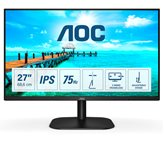 "Monitor 27"" LED AOC 27B2DA, FHD, 4ms, 250cd/m2, 20.000.000:1, crni"