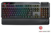 Tipkovnica ASUS ROG Claymore II, RX Red, mehanička, crna, US layout, USB